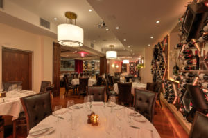 Benjamin Steakhouse Westchester Interior
